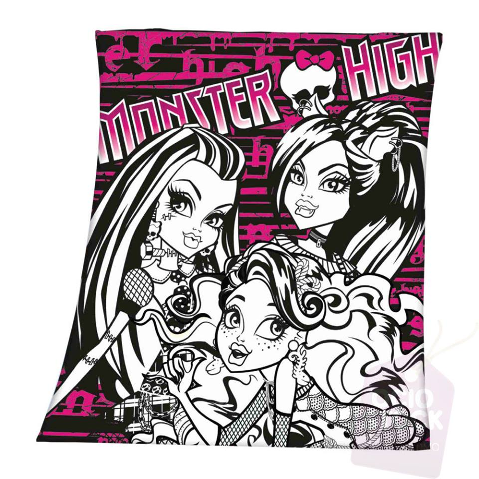 Photo du produit Couverture polaire Monster High