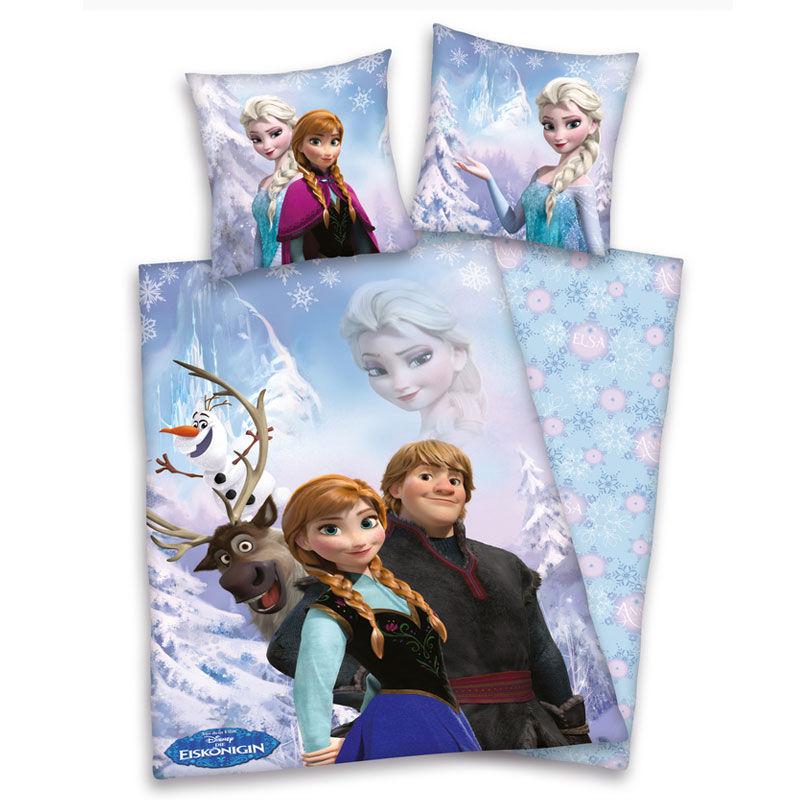 Photo du produit Parure de lit Disney La reine des neiges