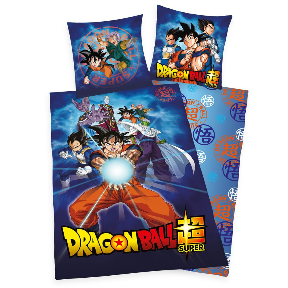 Photo du produit DRAGON BALL SUPER PARURE DE LIT CHARACTERS 135 X 200 CM / 80 X 80 CM