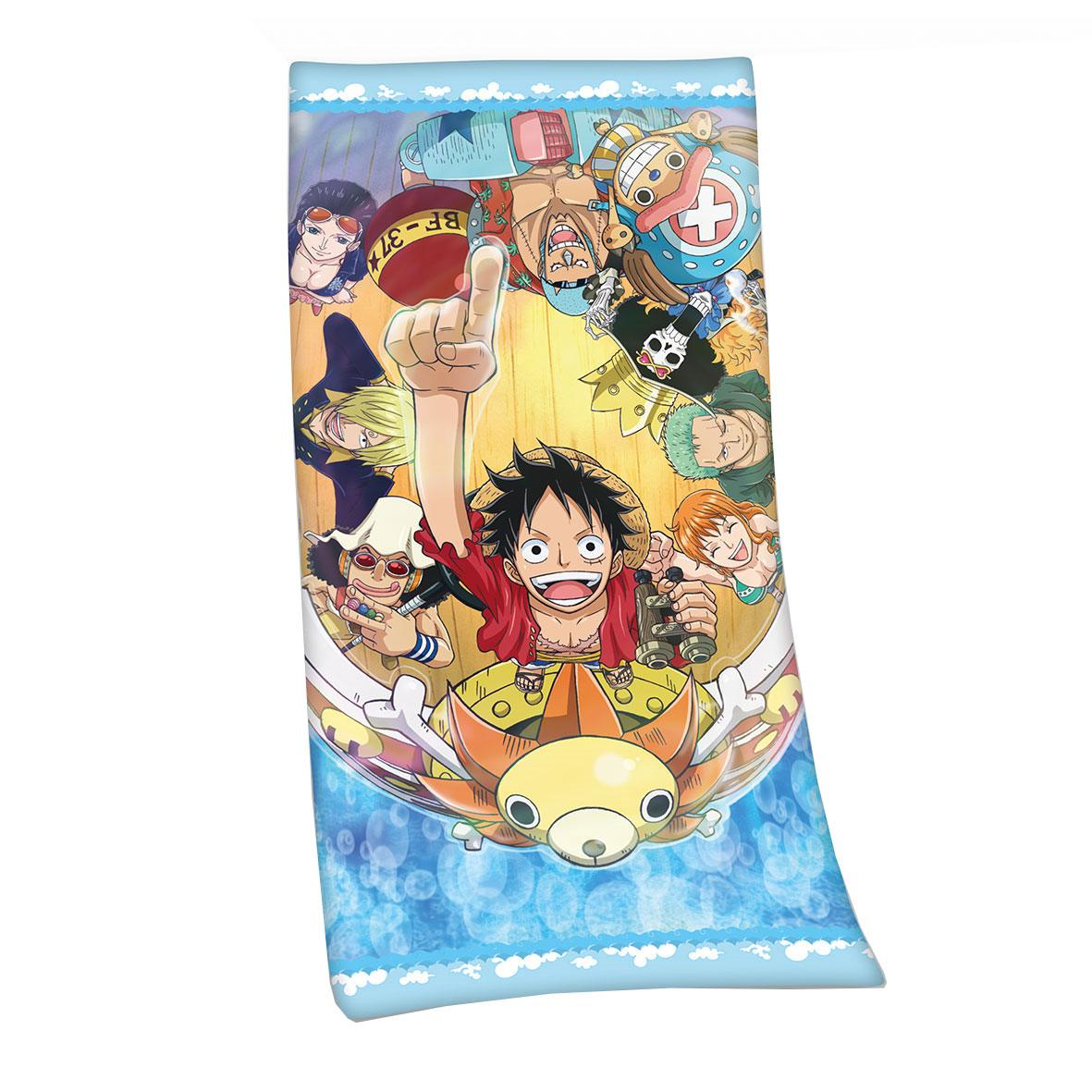 Photo du produit ONE PIECE SERVIETTE DE BAIN STRAW HAT PIRATES 75 X 150 CM