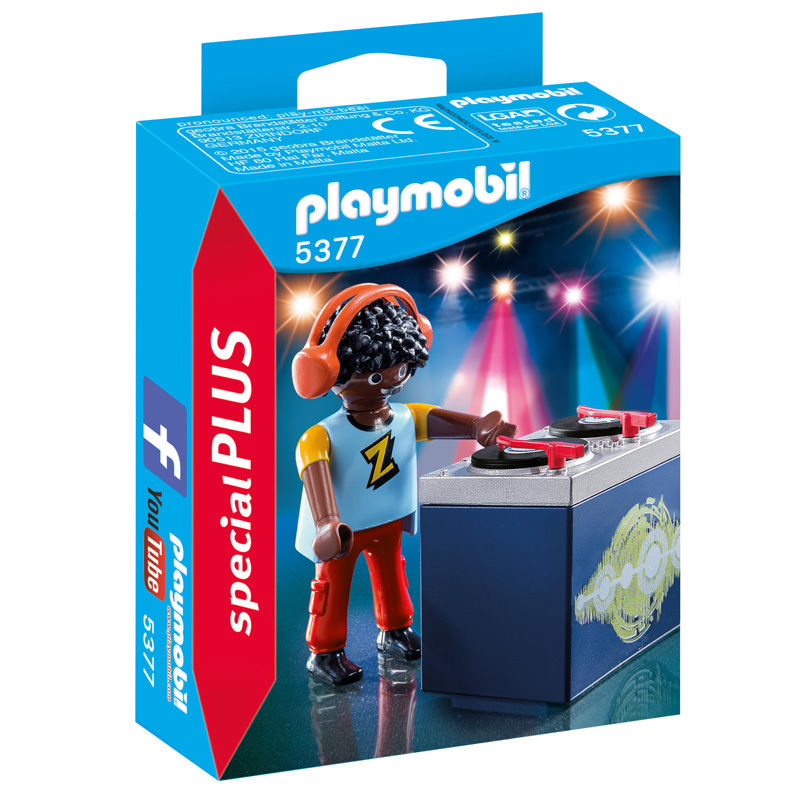 Photo du produit PLAYMOBIL SPECIAL PLUS 5377 - DJ - DISC JOCKEY
