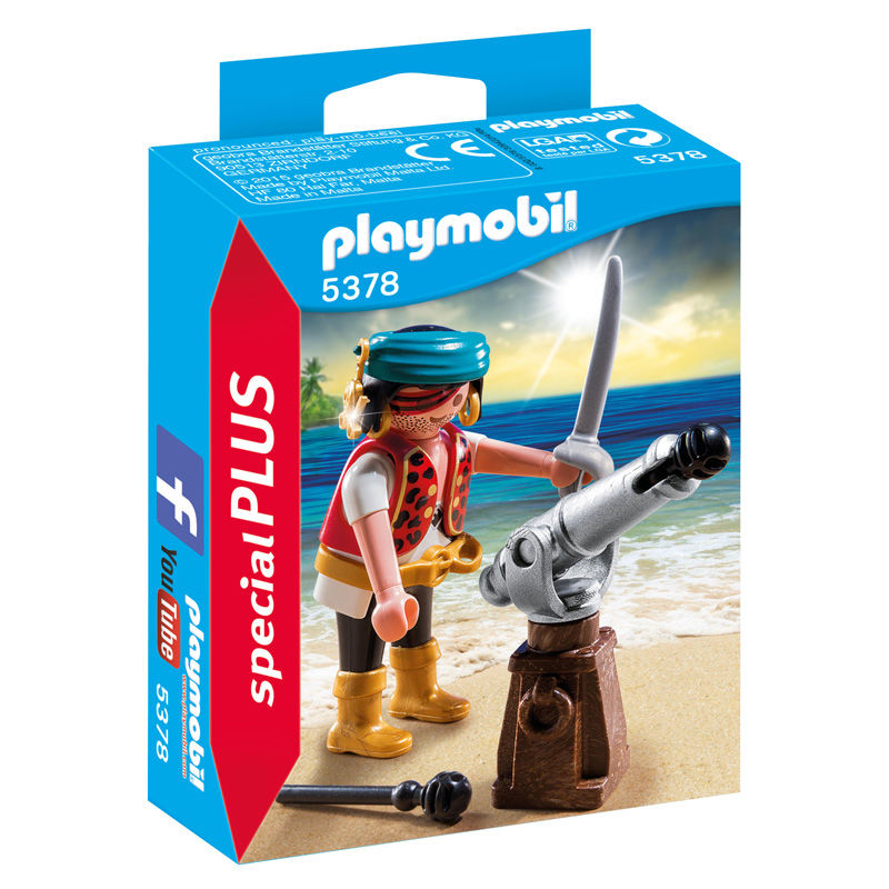 Photo du produit PLAYMOBIL 5378 CANONNIER DES PIRATES