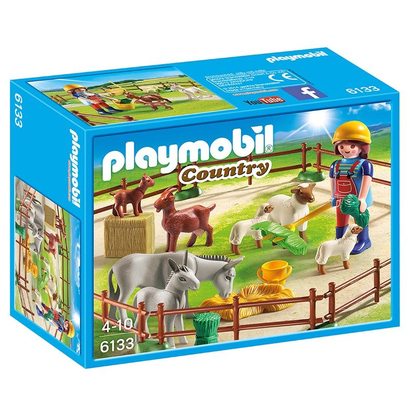 Photo du produit PLAYMOBIL -  COUNTRY - FERMIERE AVEC ANIMAUX 6133