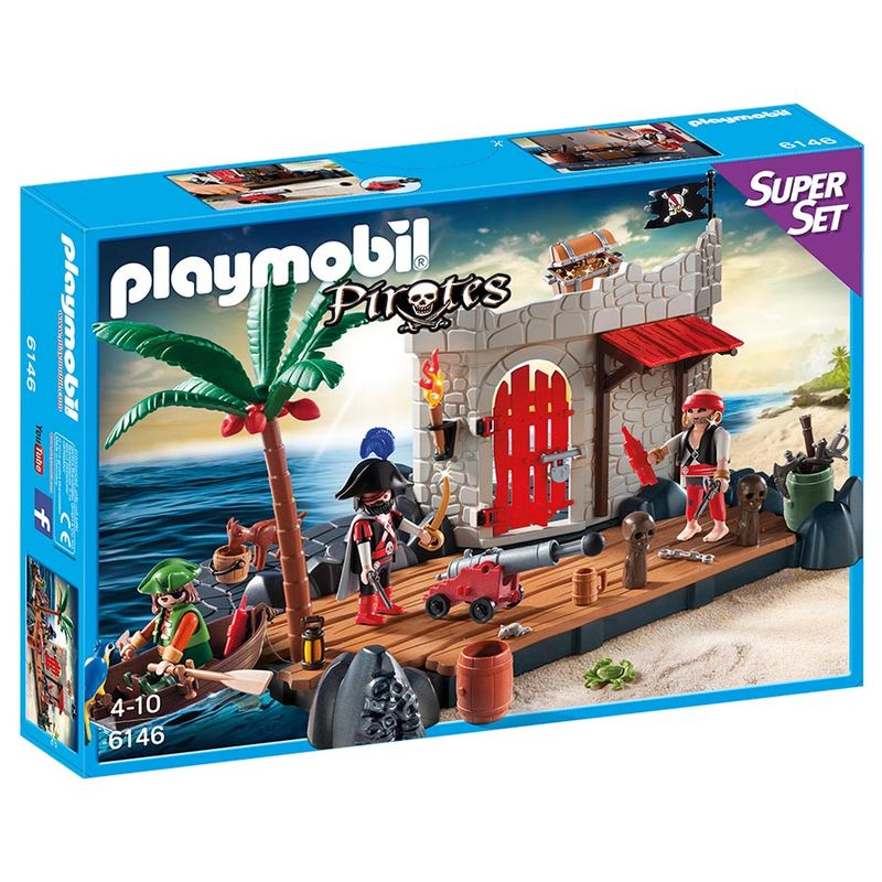 Photo du produit PLAYMOBIL - 6146 - SUPERSET FORTERESSE PIRATES