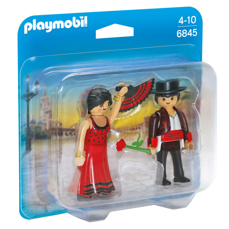 Photo du produit PLAYMOBIL 6845 DUO PACK DANSEURS FLAMENCO