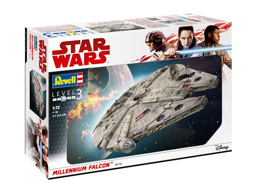 Photo du produit STAR WARS MAQUETTE 1/72 MILLENNIUM FALCON 38 CM