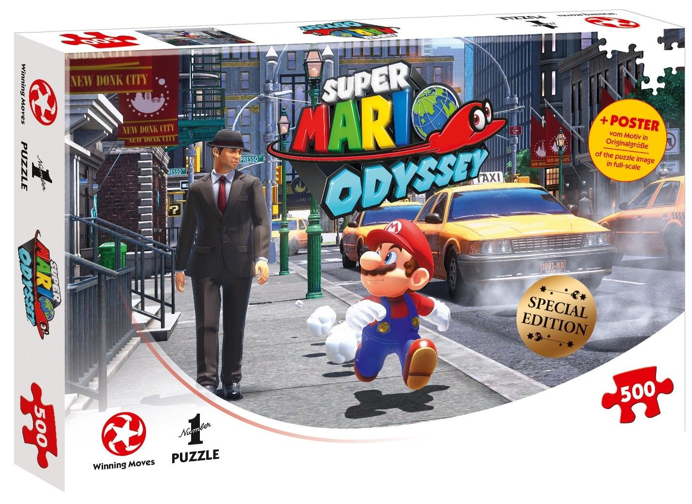 Photo du produit SUPER MARIO ODYSSEY PUZZLE NEW DONK CITY