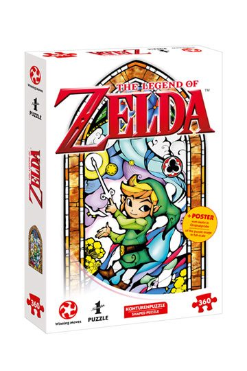 Photo du produit THE LEGEND OF ZELDA PUZZLE LINK WIND WAKER
