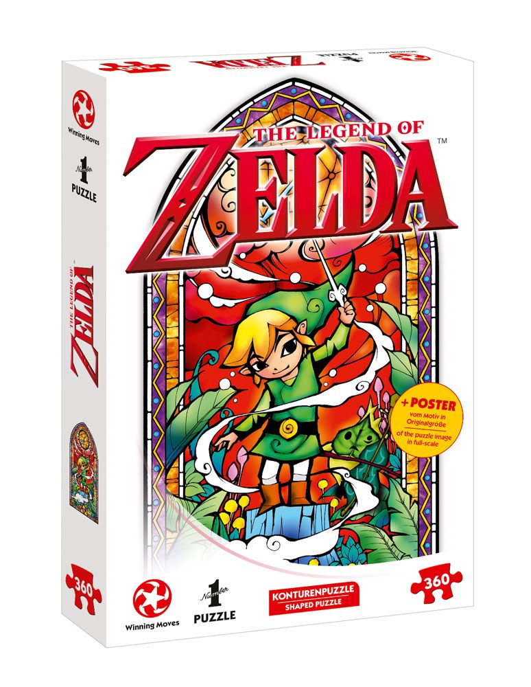 Photo du produit THE LEGEND OF ZELDA PUZZLE LINK WIND'S REQIUEM