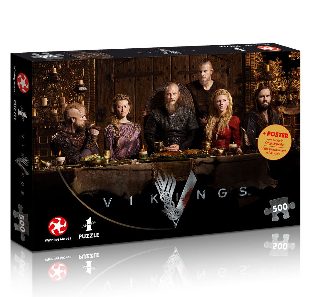 Photo du produit VIKINGS PUZZLE RAGNAR'S COURT