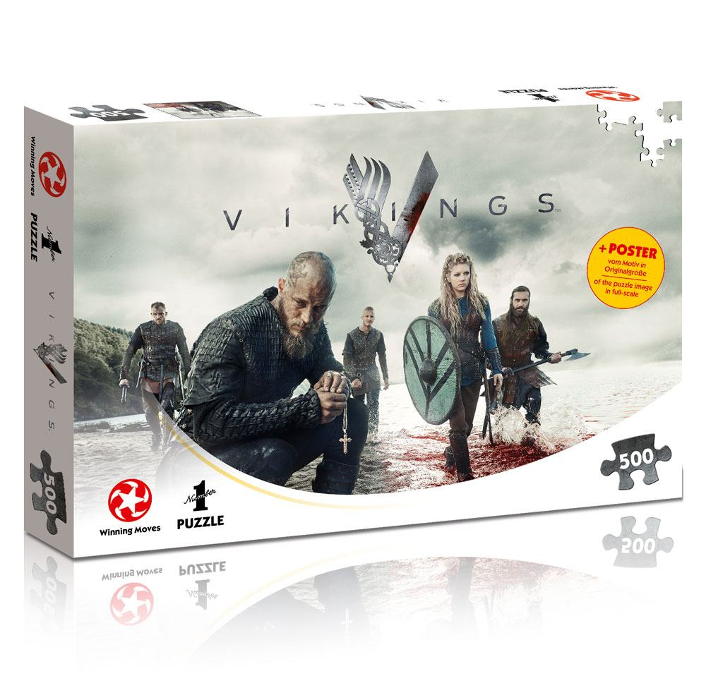 Photo du produit VIKINGS PUZZLE THE WORLD WILL BE OURS