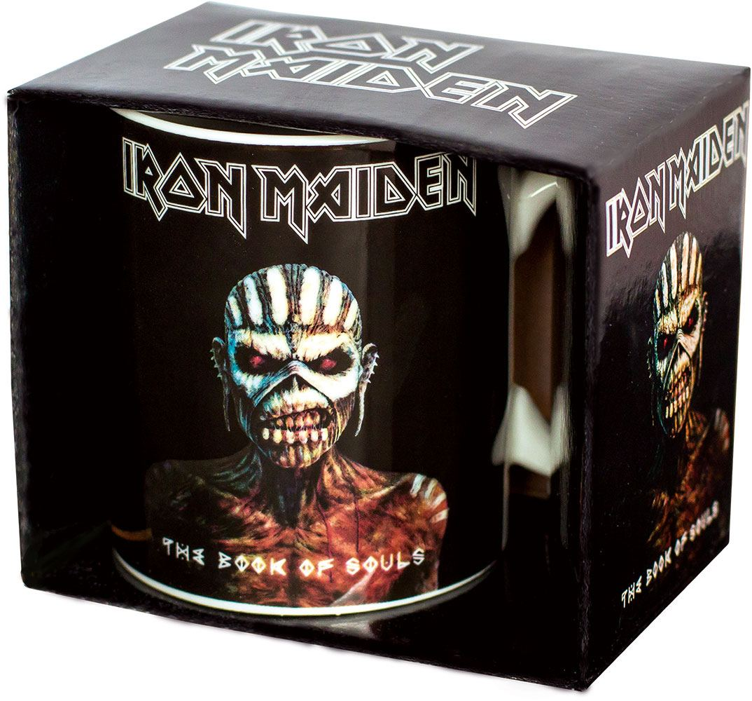 Photo du produit IRON MAIDEN MUG THE BOOK OF SOULS