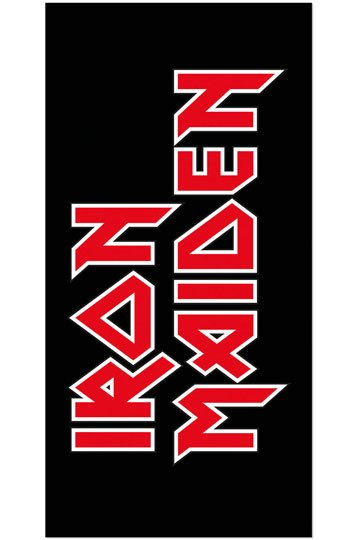 Photo du produit IRON MAIDEN SERVIETTE DE BAIN LOGO 150 X 75 CM