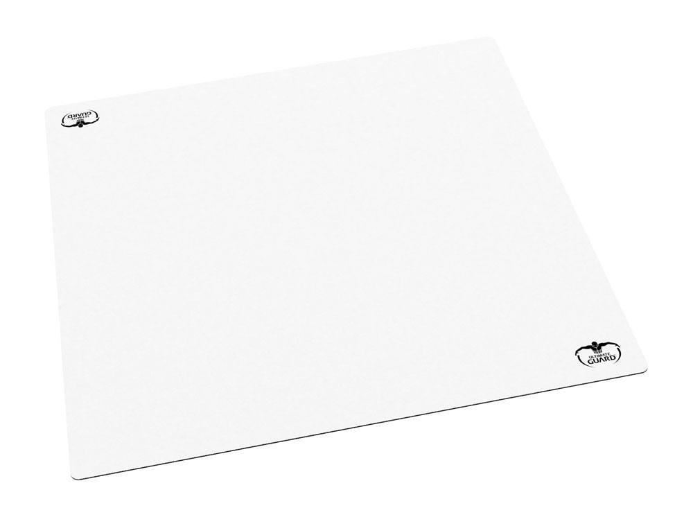Photo du produit Ultimate Guard tapis de jeu 60 Monochrome Blanc 61 x 61 cm