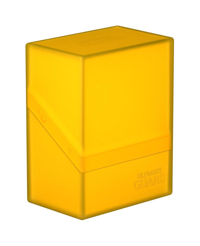 Photo du produit Ultimate Guard Boulder Deck Case 60+ taille standard Amber