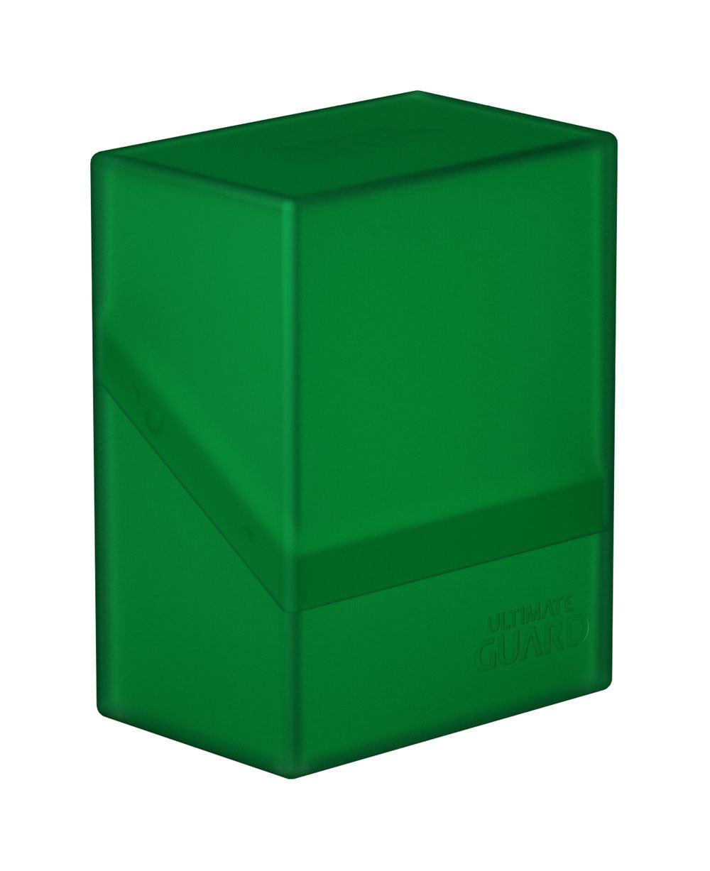 Photo du produit Ultimate Guard Boulder Deck Case 60+ taille standard Emerald