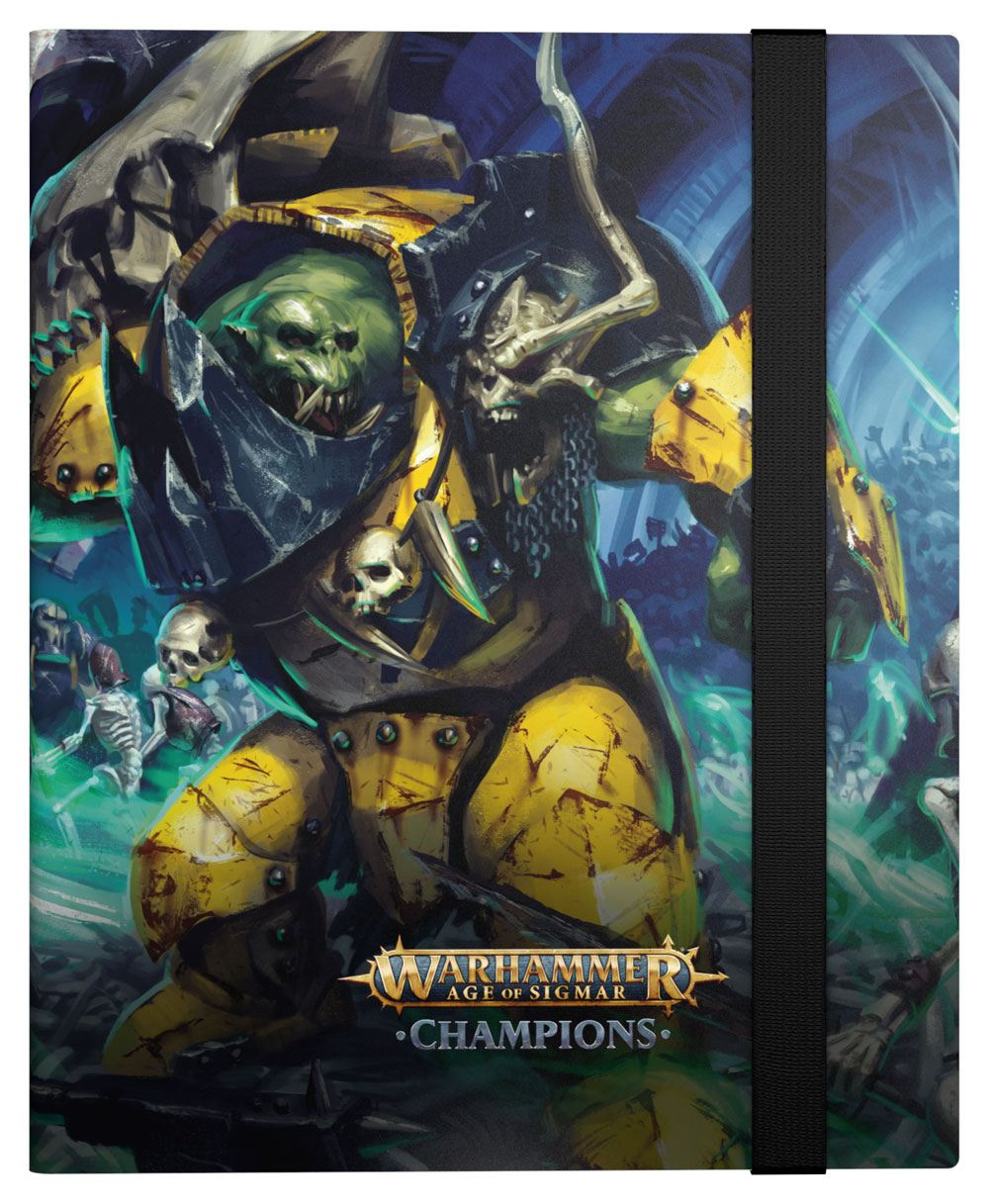 Photo du produit WARHAMMER AGE OF SIGMAR: CHAMPIONS 18-POCKET FLEXXFOLIO DESTRUCTION VS. DEATH