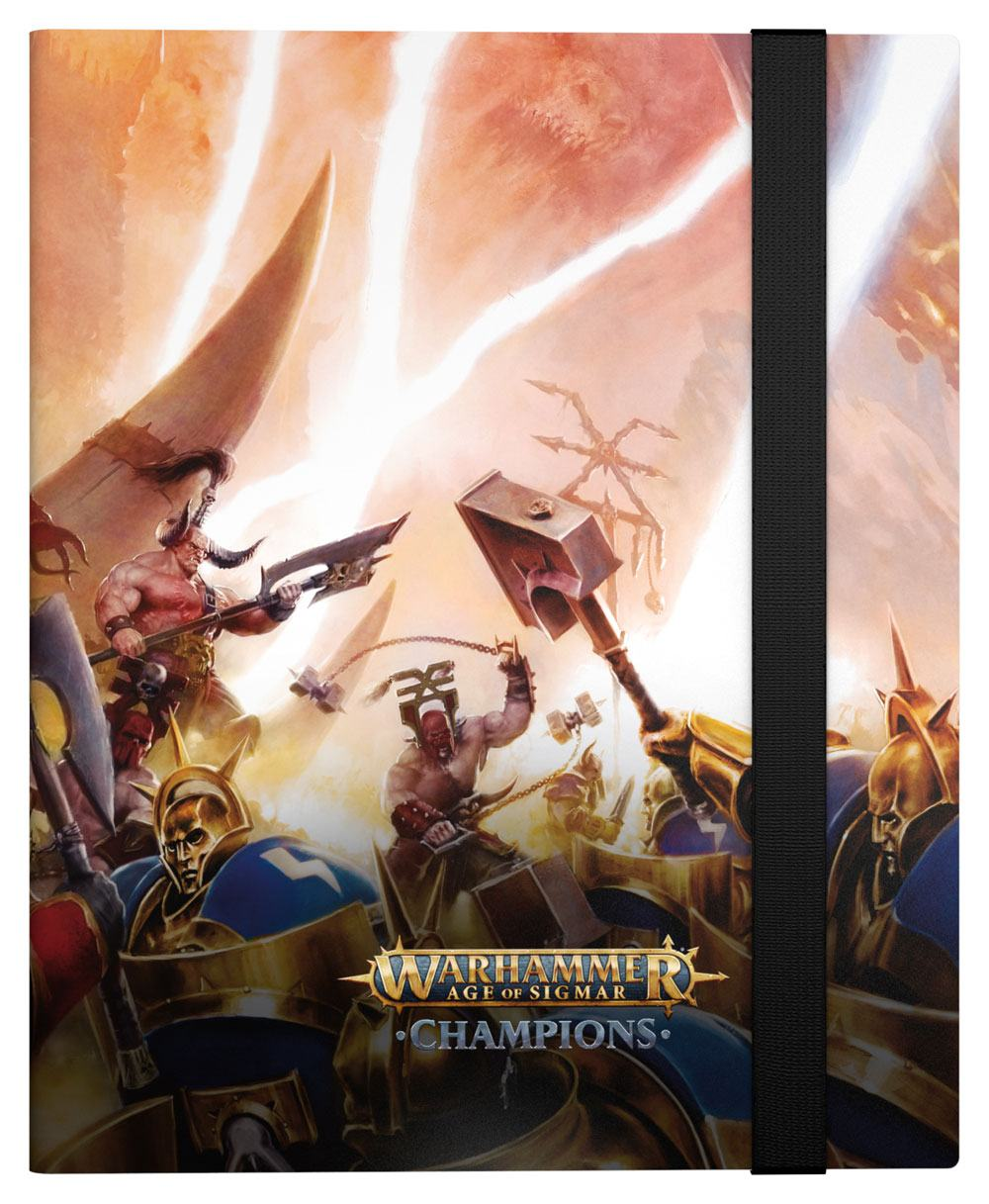 Photo du produit WARHAMMER AGE OF SIGMAR: CHAMPIONS 18-POCKET FLEXXFOLIO CHAOS VS. ORDER