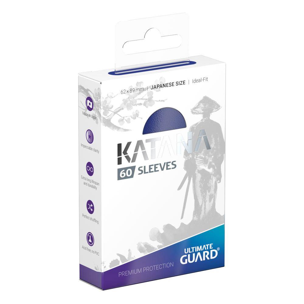 Photo du produit Ultimate Guard 60 pochettes Katana Sleeves format japonais Bleu