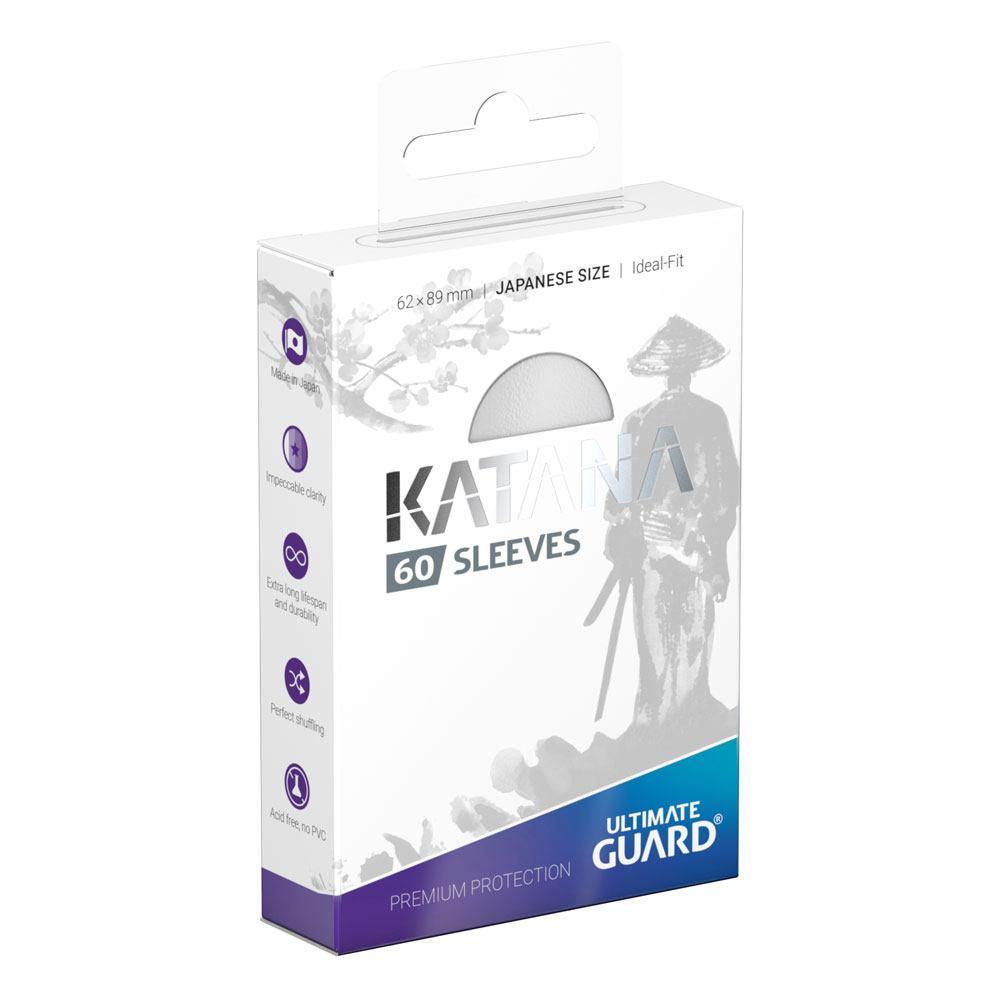 Photo du produit Ultimate Guard 60 pochettes Katana Sleeves format japonais Blanc