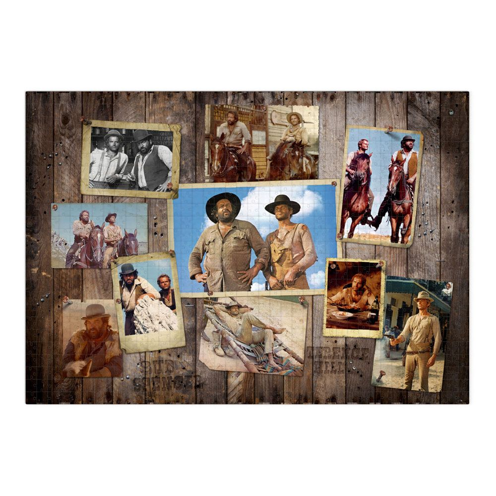 Photo du produit BUD SPENCER & TERENCE HILL PUZZLE WESTERN PHOTO WALL (1000 PIÈCES)