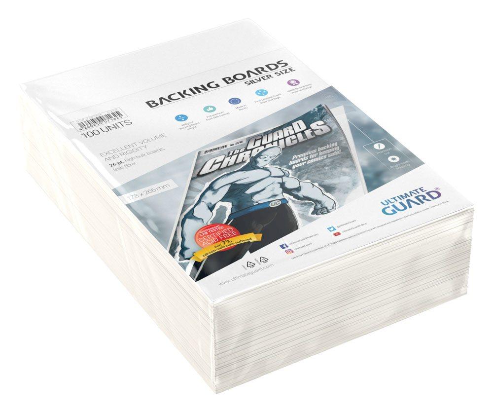 Photo du produit Ultimate Guard backboards Comics Silver Size (100)
