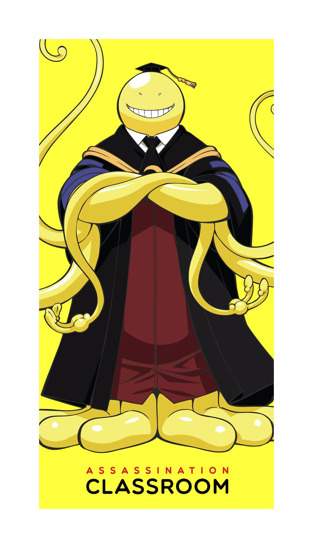 Photo du produit ASSASSINATION CLASSROOM SERVIETTE DE BAIN KORO SENSEI 70 X 35 CM