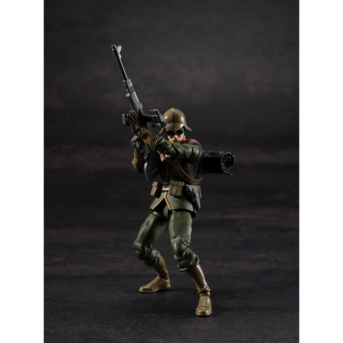 Photo du produit MOBILE SUIT GUNDAM FIGURINE G.M.G. PRINCIPALITY OF ZEON ARMY SOLDIER 01 10 CM