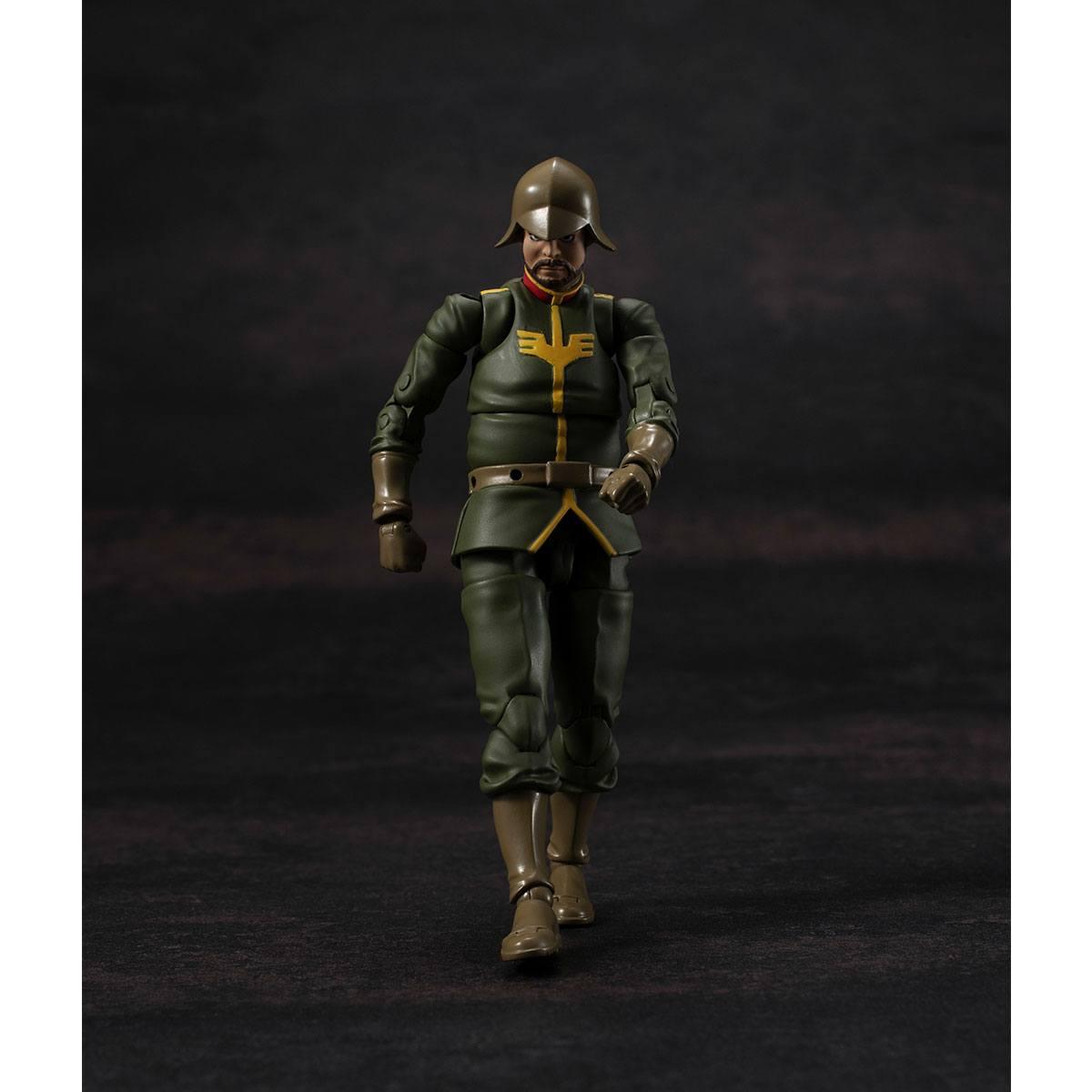 Photo du produit MOBILE SUIT GUNDAM FIGURINE G.M.G. PRINCIPALITY OF ZEON ARMY SOLDIER 02 10 CM
