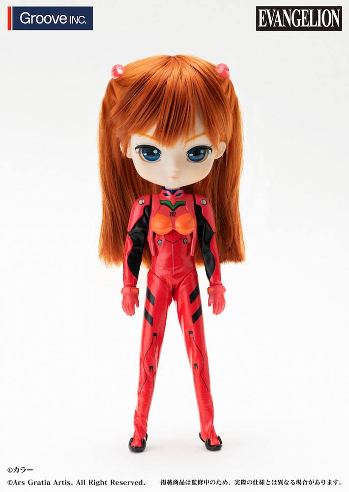 Photo du produit EVANGELION COLLECTION DOLL POUPÉE ASUKA LANGLEY SHIKINAMI 27 CM