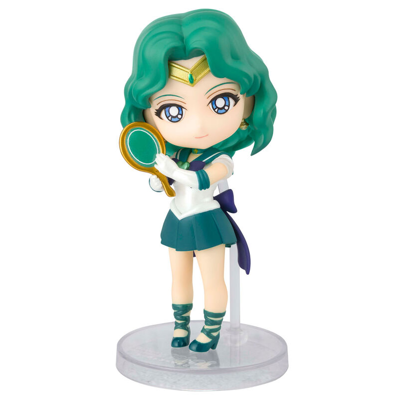 Photo du produit SAILOR MOON ETERNAL FIGURINE FIGUARTS MINI SUPER SAILOR NEPTUNE (ETERNAL EDITION) 9 CM