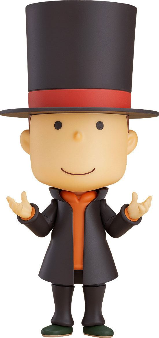 Photo du produit GOOD SMILE COMPANY FIGURINE NENDOROID PROFESSOR LAYTON