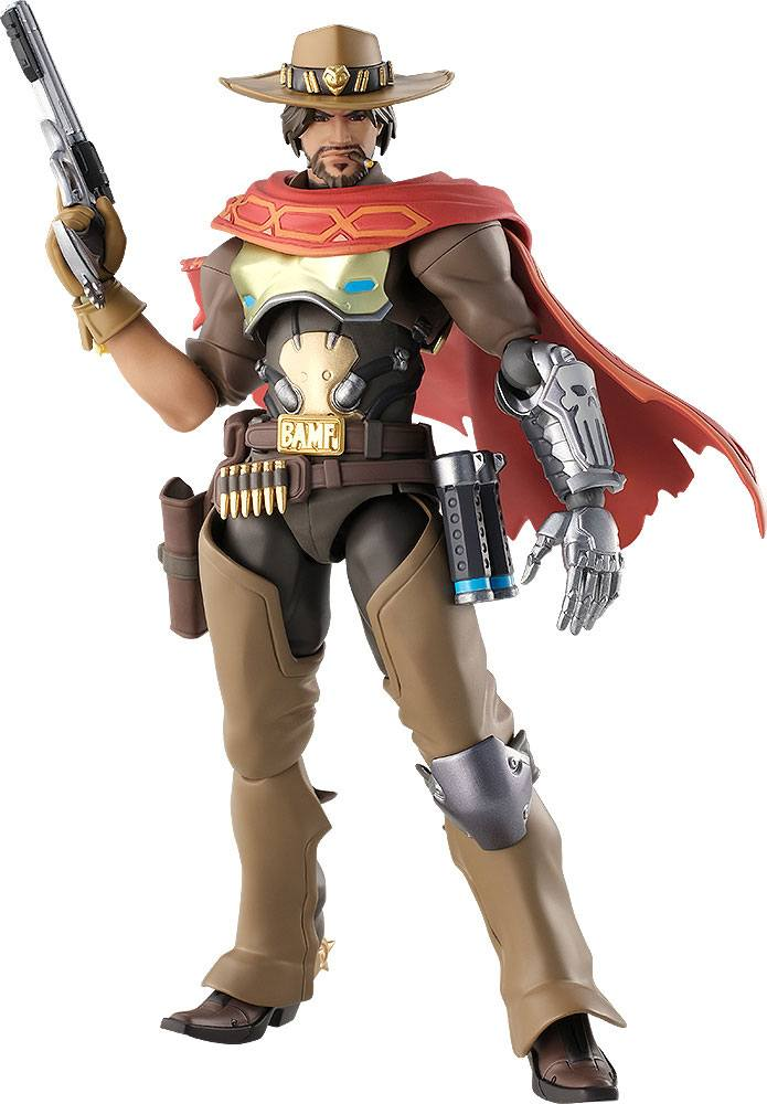 Photo du produit OVERWATCH FIGURINE FIGMA MCCREE 16 CM
