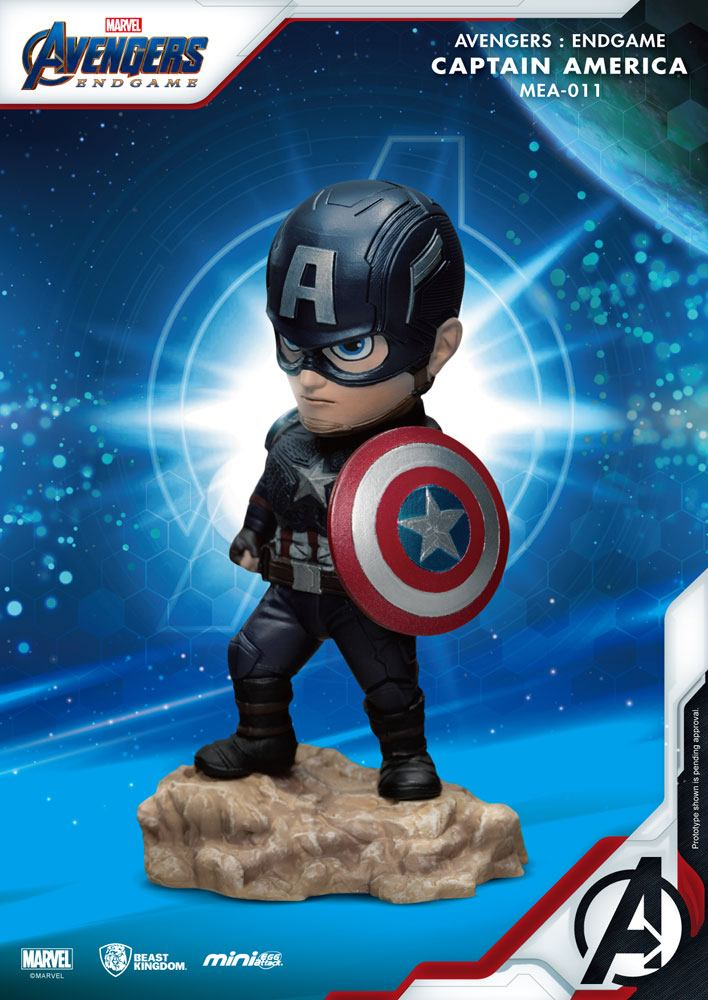 Photo du produit AVENGERS : ENDGAME FIGURINE MINI EGG ATTACK CAPTAIN AMERICA 7 CM