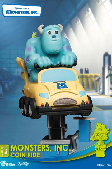 Photo du produit DISNEY COIN RIDE SERIES DIORAMA PVC D-STAGE MONSTERS INC. 16 CM