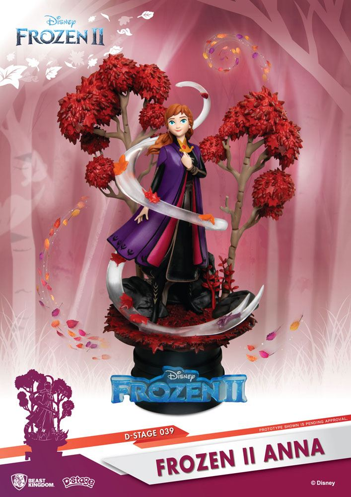 Photo du produit LA REINE DES NEIGES 2 DIORAMA PVC D-STAGE ANNA 15 CM