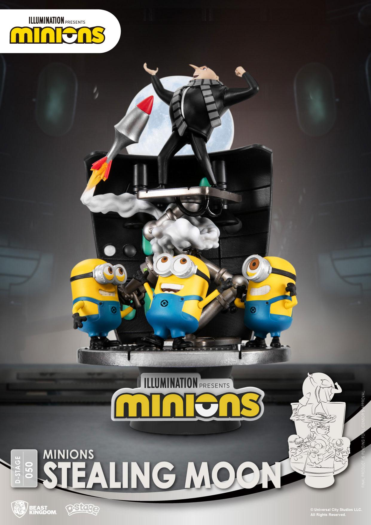 Photo du produit MINIONS DIORAMA PVC D-STAGE STEALING MOON 15 CM