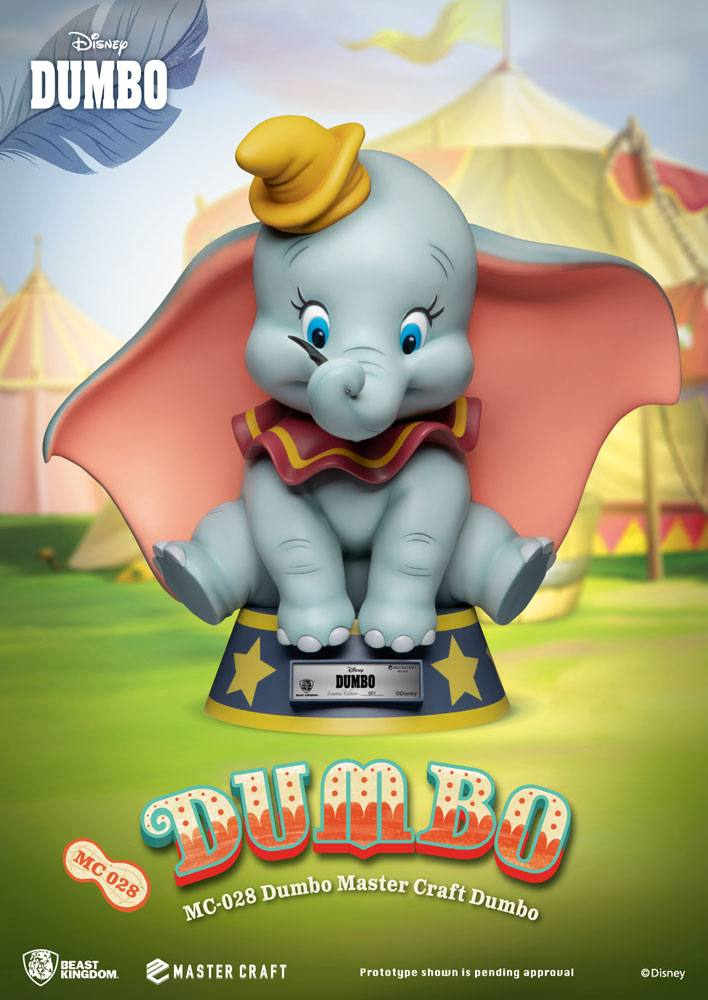 Photo du produit DUMBO STATUETTE MASTER CRAFT DUMBO 32 CM