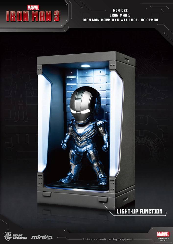 Photo du produit IRON MAN 3 MINI EGG ATTACK FIGURINE HALL OF ARMOR IRON MAN MARK XXX 8 CM