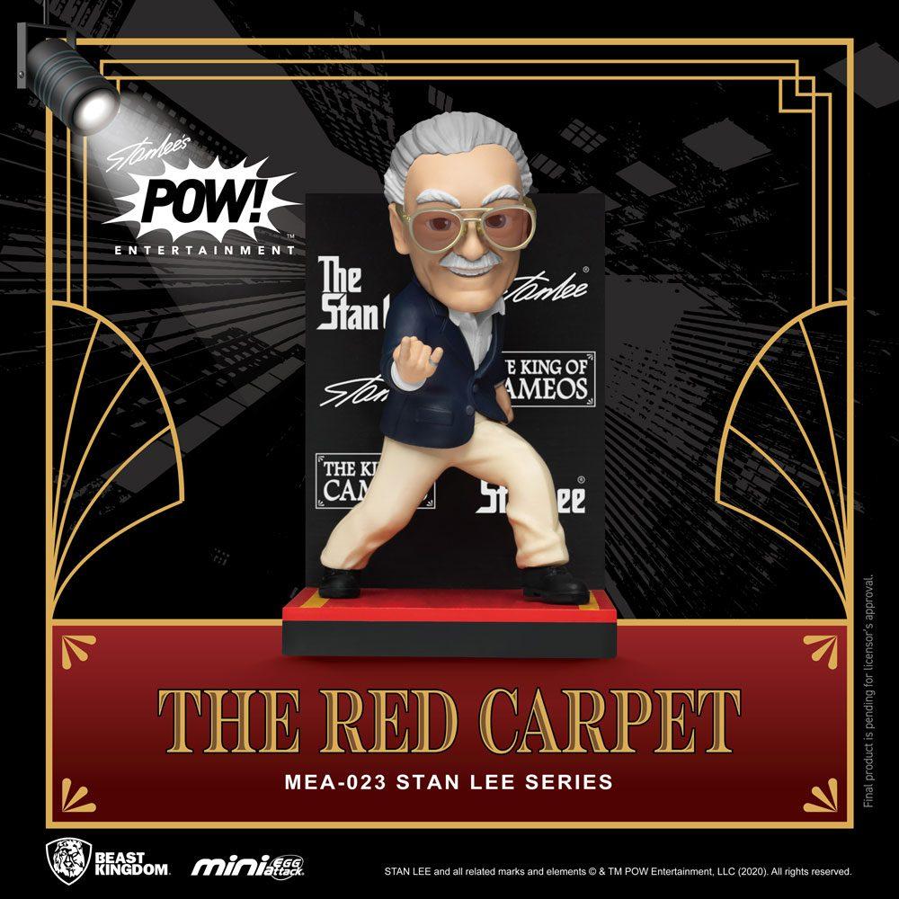 Photo du produit BEAST KINGDOM FIGURINE MINI EGG ATTACK STAN LEE THE RED CARPET 8 CM