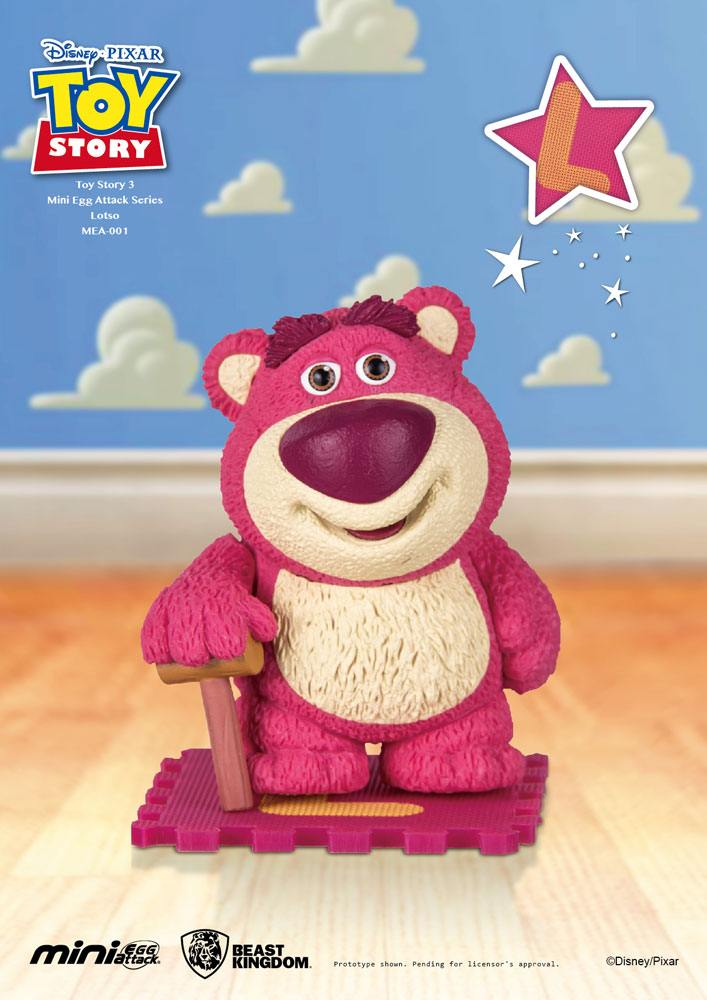 Photo du produit TOY STORY FIGURINE MINI EGG ATTACK LOTSO 9 CM