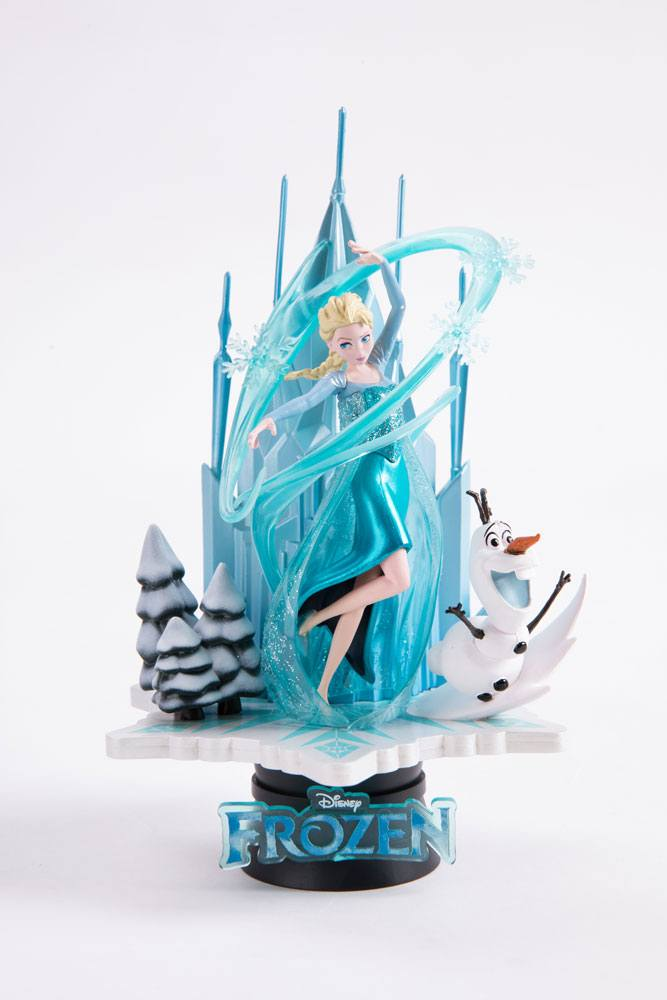 Photo du produit LA REINE DES NEIGES DIORAMA PVC D-SELECT EXCLUSIVE
