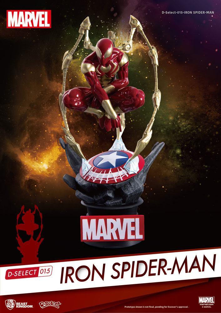 Photo du produit MARVEL DIORAMA PVC D-SELECT IRON SPIDER-MAN 16 CM