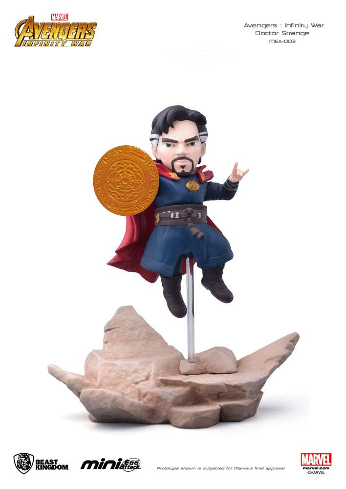 Photo du produit AVENGERS INFINITY WAR FIGURINE MINI EGG ATTACK DOCTOR STRANGE 9 CM