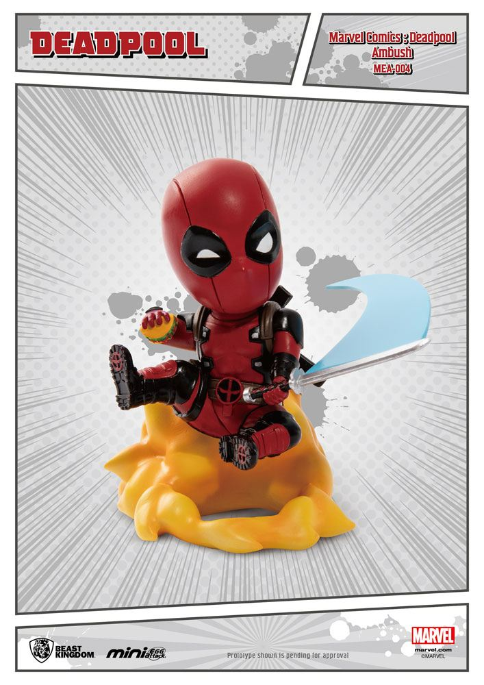 Photo du produit MARVEL COMICS FIGURINE MINI EGG ATTACK DEADPOOL AMBUSH 9 CM