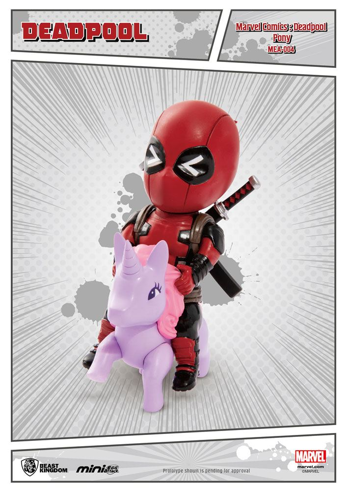 Photo du produit MARVEL COMICS FIGURINE MINI EGG ATTACK DEADPOOL PONY 9 CM