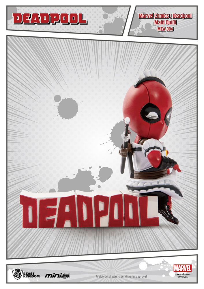 Photo du produit MARVEL COMICS FIGURINE MINI EGG ATTACK DEADPOOL SERVANT 9 CM