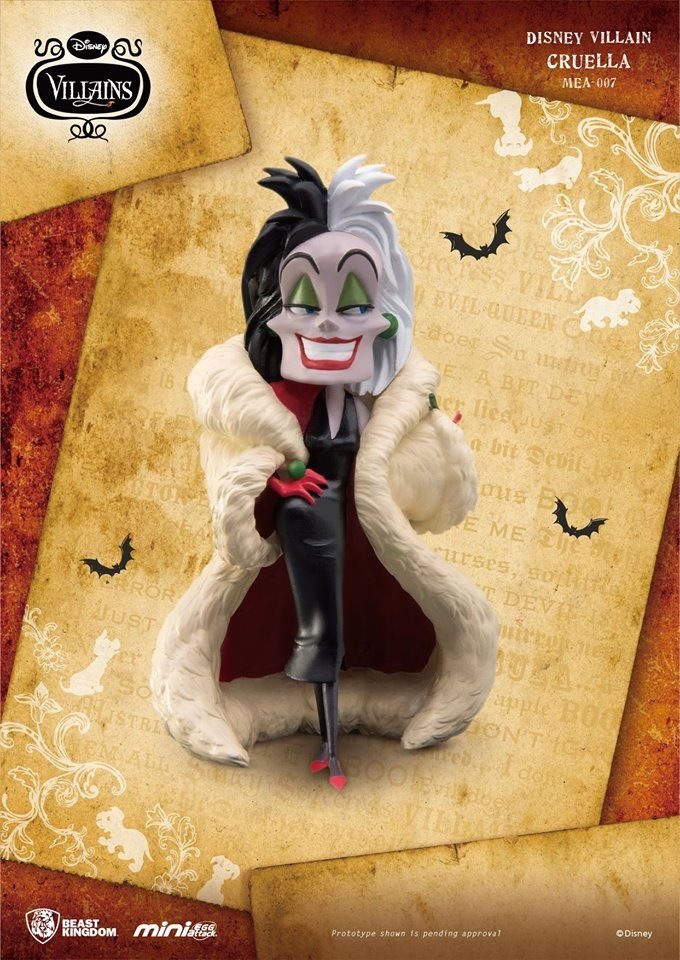 Photo du produit DISNEY VILLAINS FIGURINE MINI EGG ATTACK CRUELLA