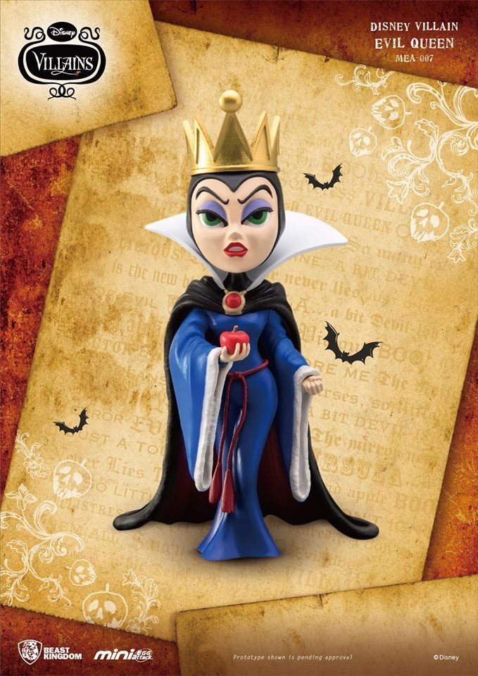 Photo du produit DISNEY VILLAINS FIGURINE MINI EGG ATTACK EVIL QUEEN