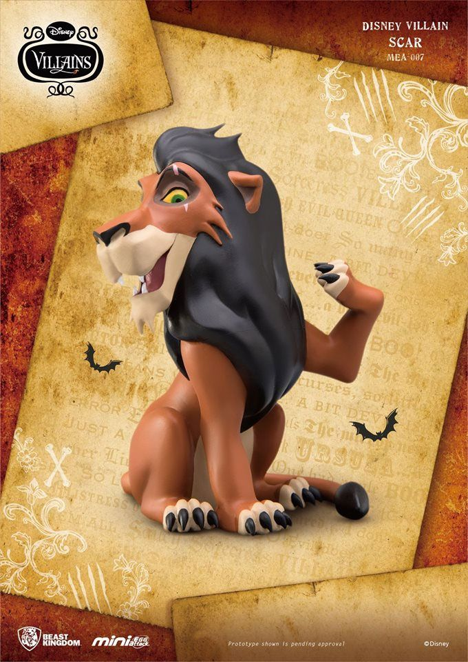 Photo du produit DISNEY VILLAINS LE ROI LION FIGURINE MINI EGG ATTACK SCAR